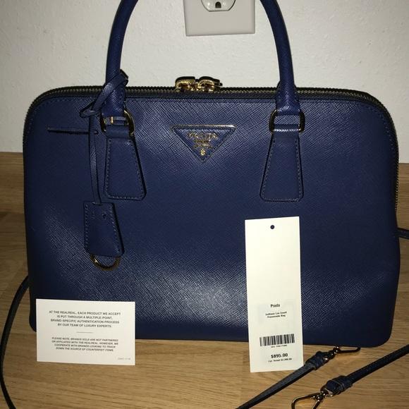 e341ec7c857f 100% Authentic Prada Saffiano Handbag